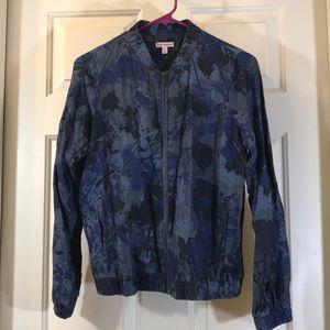 Juicy Couture Splatter Bomber Jacket